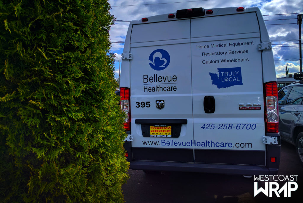 Fleet Graphics Bellevue Healthcare-Westcoast-Wrap