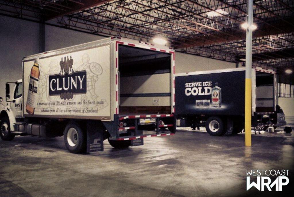 Truck Wraps Jagermeister Westcoast Wrap