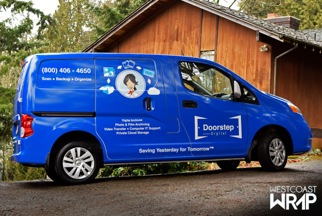 Vehicle Wraps Doorstep Digital Westcoast Wrap